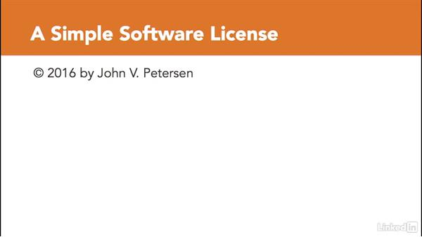 What is a software license?