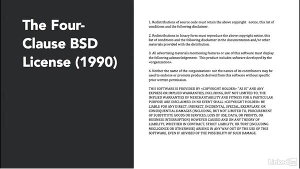 The first open-source license: BSD: Foundations of Programming: Open-Source Licensing