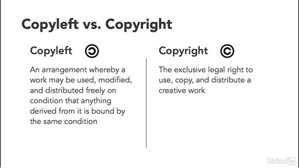 Permissive vs. copyleft open-source licenses: Foundations of Programming: Open-Source Licensing