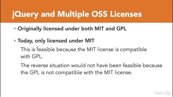 Dual licensing: Foundations of Programming: Open-Source Licensing