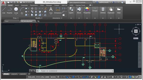 Using the exercise files: AutoCAD 2017 New Features