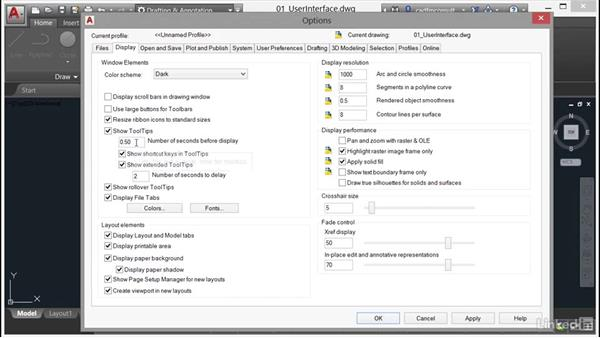 Tool tip enhancements: AutoCAD 2017 New Features