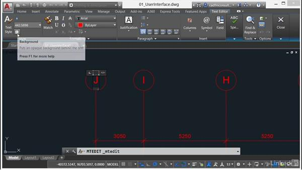 TEXTEDIT command: AutoCAD 2017 New Features