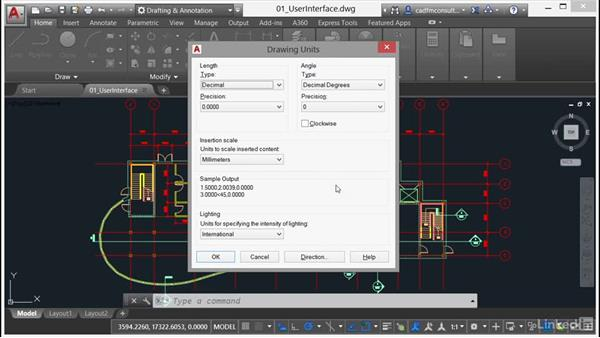Units settings: AutoCAD 2017 New Features