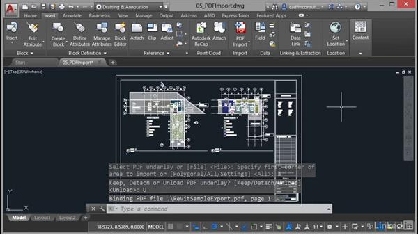 PDF notes and limitations: AutoCAD 2017 New Features