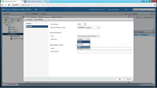 Configure a distributed switch: Configure and Manage VMware vSphere Distributed Switch