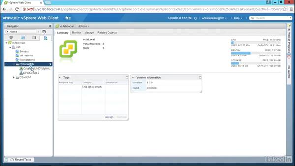 Use backup and restore: Configure and Manage VMware vSphere Distributed Switch
