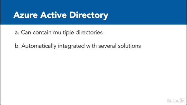 Azure Active Directory vs. Active Directory Domain Services: Learn Microsoft Azure: Active Directory