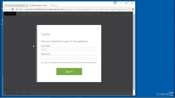 Configure an application for single sign-on: Learn Microsoft Azure: Active Directory