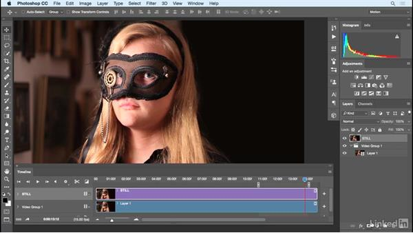 Selecting an area of video for the cinemagraph: Photoshop Cinemagraph Tutorial: Start to Finish