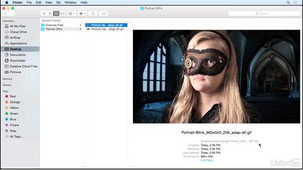 Exporting a cinemagraph as a video file: Photoshop Cinemagraph Tutorial: Start to Finish