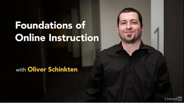 Welcome: Foundations of Online Instruction