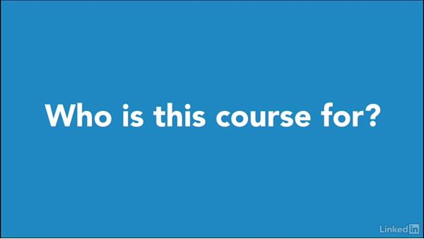 Who is this class for?: Foundations of Online Instruction