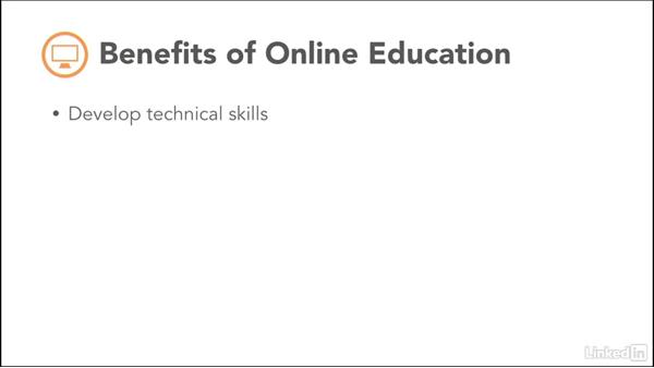 Benefits of online education: Foundations of Online Instruction