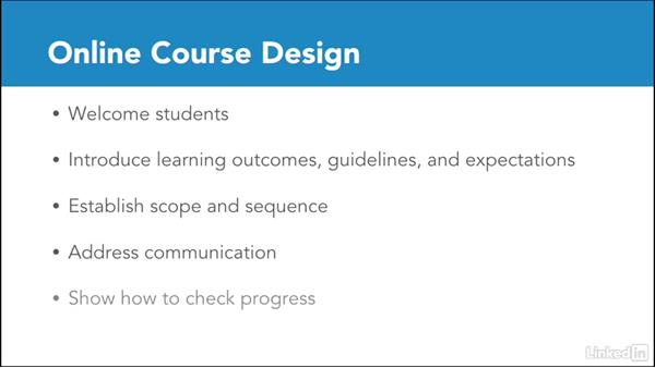 Introduction to online course design: Foundations of Online Instruction