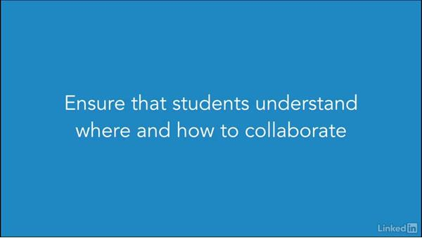 Establishing modes for communication and collaboration: Foundations of Online Instruction