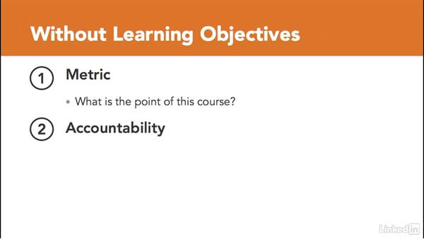 What happens if I don't use learning objectives?: Write Effective Learning Objectives