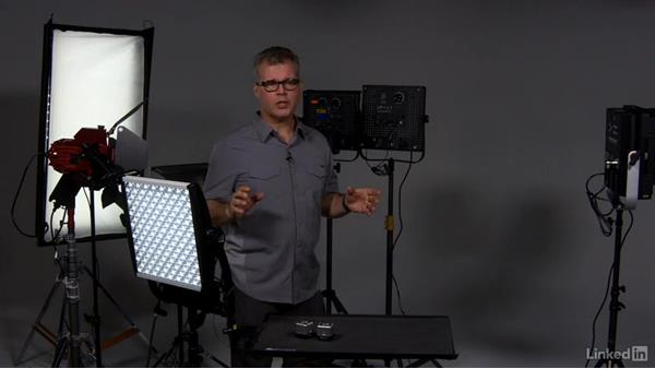 Performance advantages of LED lighting: LED & Compact Video Lighting