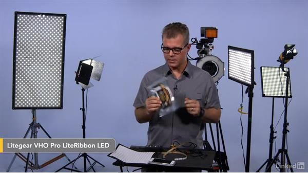 Integrated units or customized: LED & Compact Video Lighting