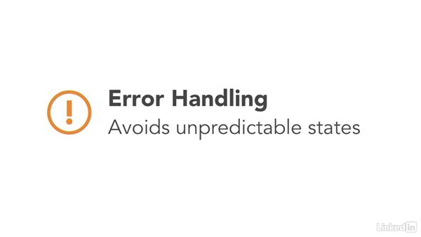 Error and exception handling: CompTIA Security+ Exam Prep (SY0-401): Application, Data, and Host Security