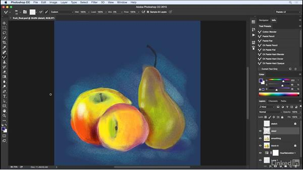 Using the exercise files: Pastel Drawing with Photoshop
