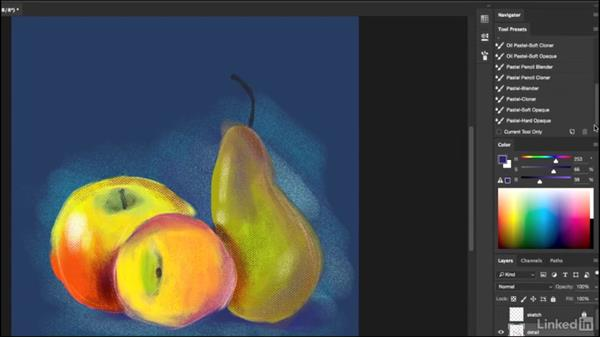 Next steps: Pastel Drawing with Photoshop