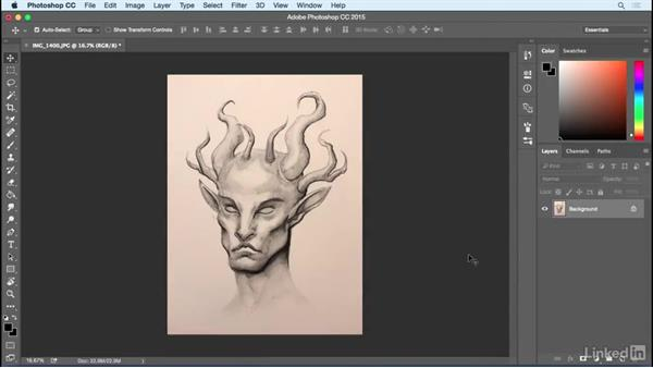 Welcome: Photoshop: Create a Satyr Using Layer Styles