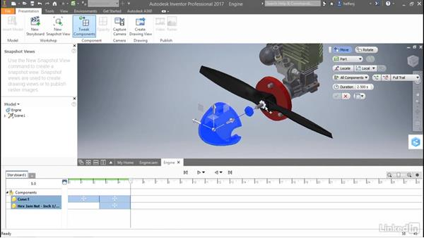 Creating presentations: Autodesk Inventor 2017 New Features