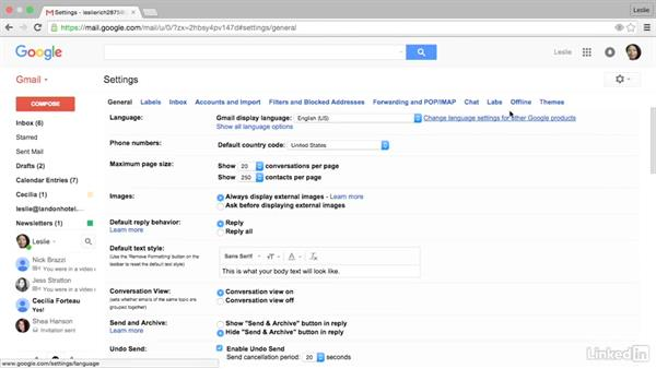 Use Google Labs to add functionality: Gmail Advanced Tips and Tricks