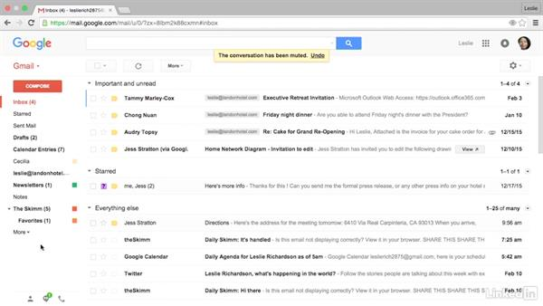 Mute a conversation: Gmail Advanced Tips and Tricks