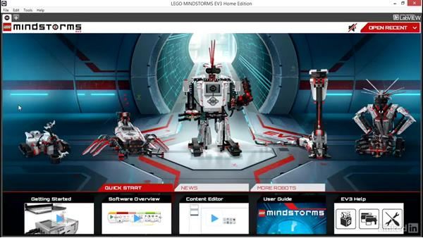 Using the exercise files: Lego Mindstorms: Open the Box