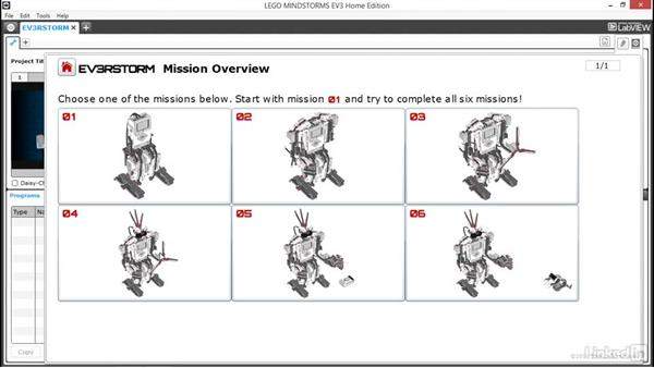 Explore the Mindstorms Lobby
