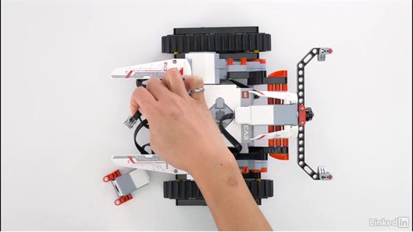 Motors and sensors: Lego Mindstorms: Open the Box