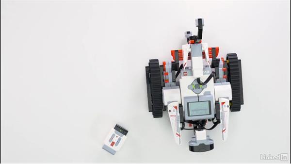 Debug unexpected behavior: Lego Mindstorms: Open the Box
