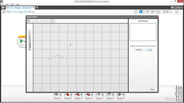 Create and edit image files: Lego Mindstorms: Open the Box