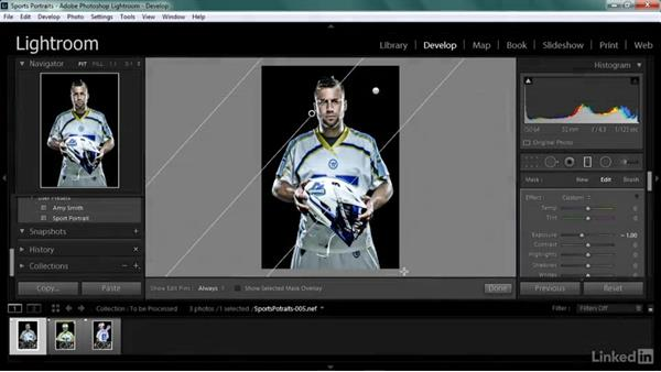 Using the exercise files: Shooting Awesome Sports Portraits