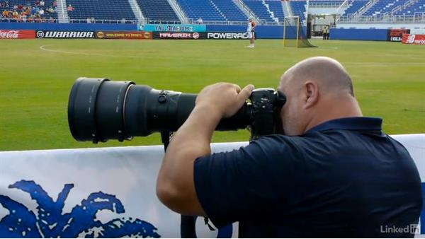 Confirming permissions: Shooting Awesome Sports Portraits