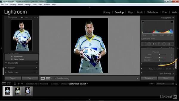 Creating a sports portrait look: Shooting Awesome Sports Portraits