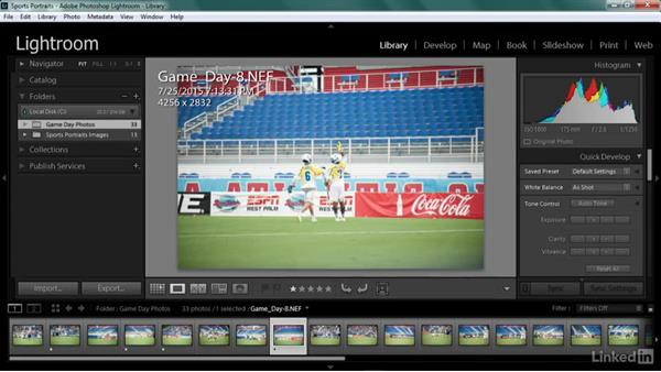 Game-shot processing reality: Shooting Awesome Sports Portraits