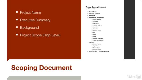 Refining scope: Budgeting Video Projects