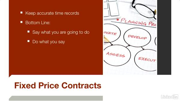 Using fixed-price contracts: Budgeting Video Projects