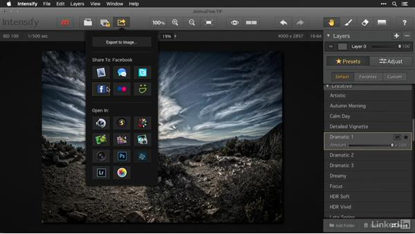 Opening and viewing images with Intensify: Macphun Software: Tips and Techniques