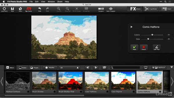 Working with FX Photo Studio presets: Macphun Software: Tips and Techniques