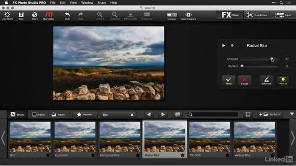 Using masks and adjustments with FX Photo Studio: Macphun Software: Tips and Techniques