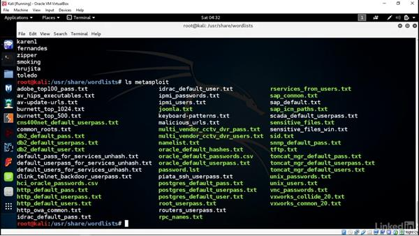 Password testing: Introduction to Kali Linux