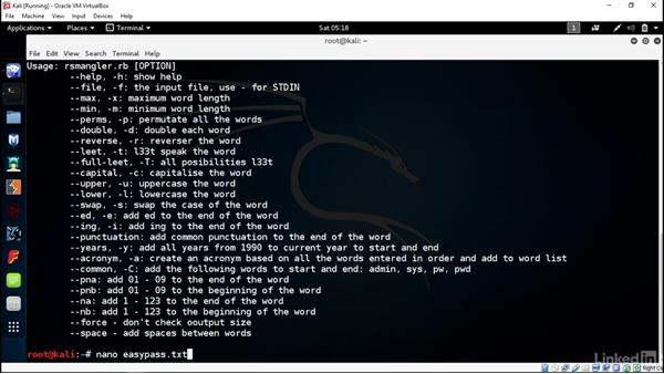 Use command-line tools: Introduction to Kali Linux