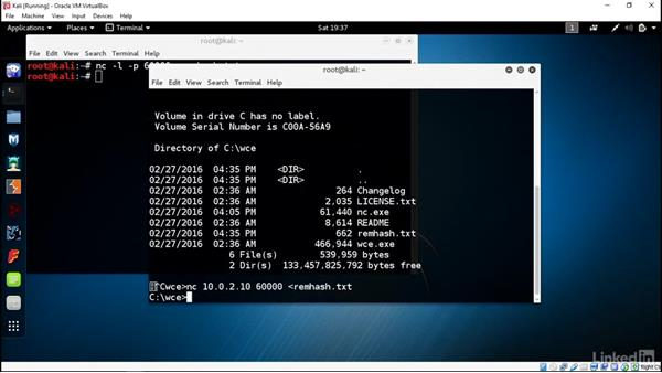 Use John for Windows passwords: Introduction to Kali Linux