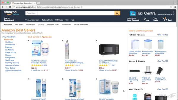 Using Amazon to measure demand: Digital Marketing Research