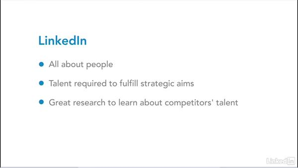 Using LinkedIn to measure the competition: Digital Marketing Research