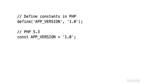 Arrays as constants: PHP 7 New Features